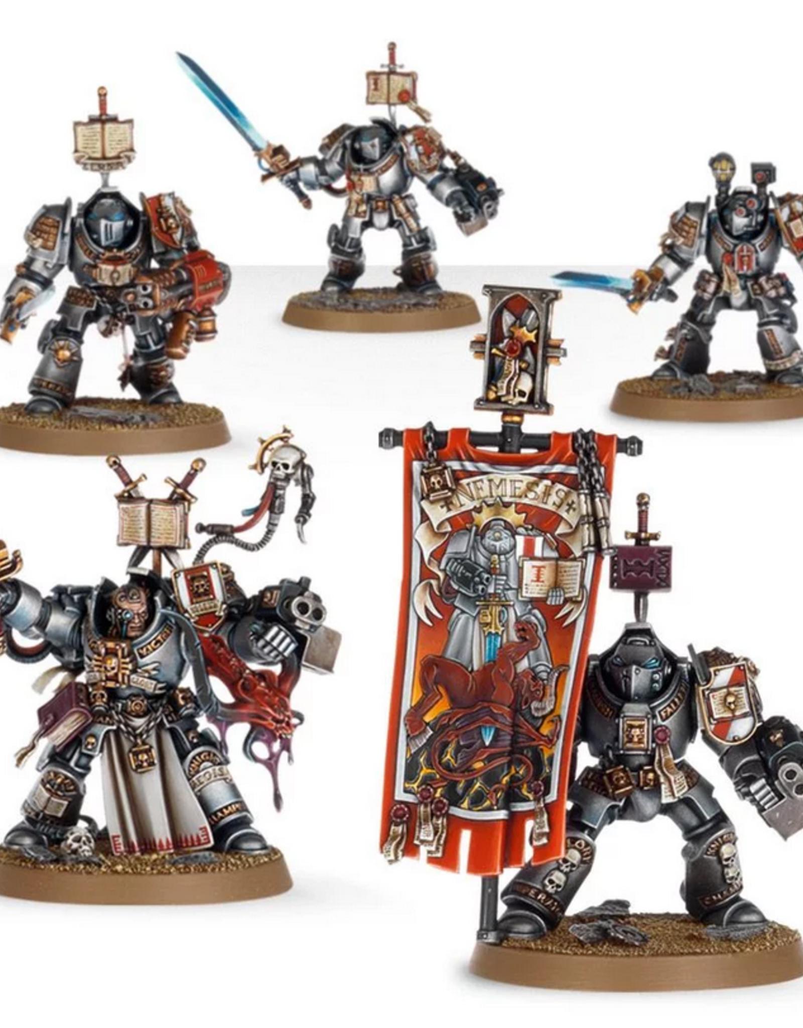 Games Workshop SM: Grey Knights Paladin Squad