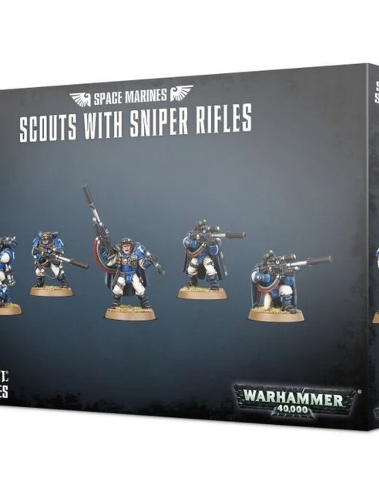 Games Workshop SM: Scouts with Sniper Rifles