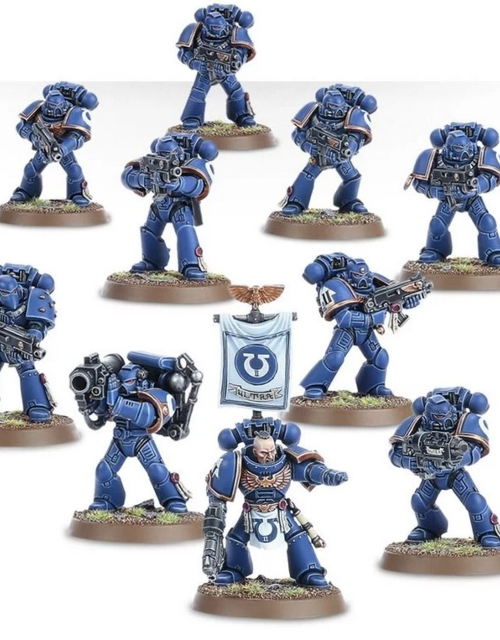 Games Workshop SM: Tactical Squad