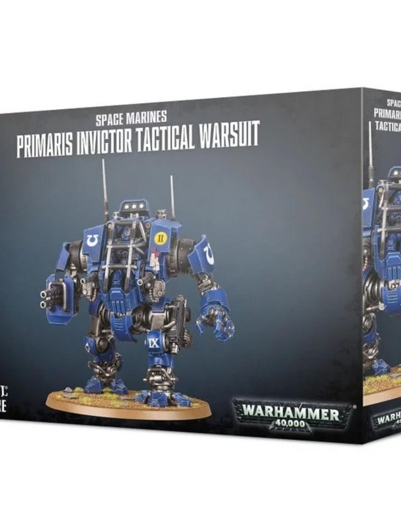 Games Workshop SM: Primaris Invictor Tactical Warsuit