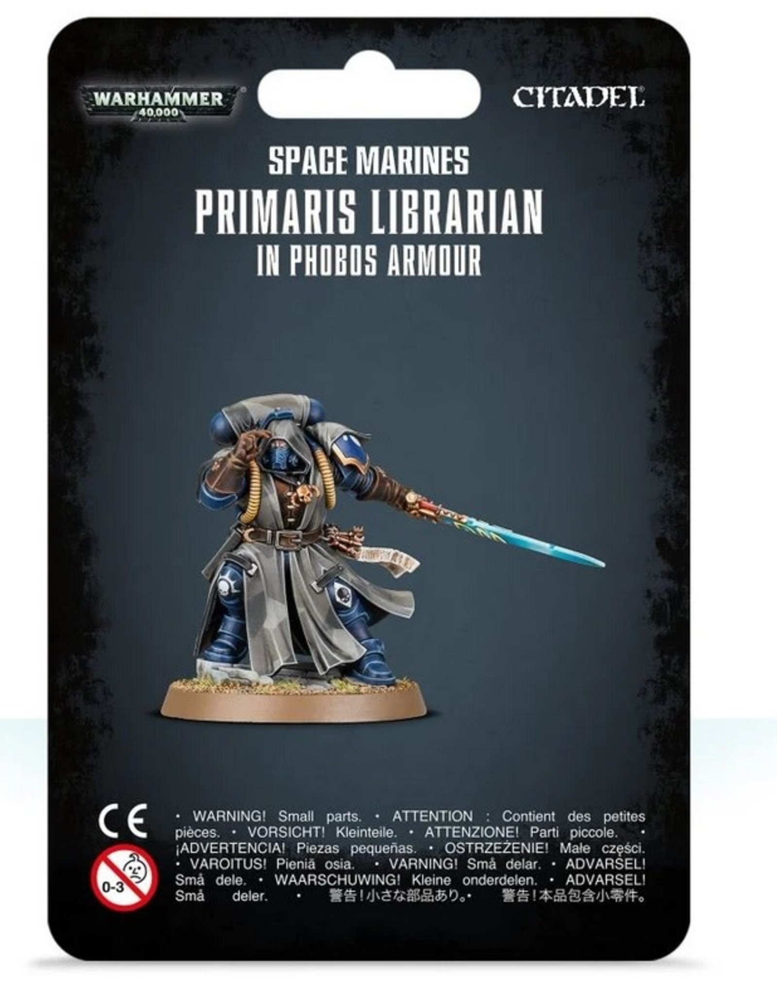 Games Workshop SM: Primaris Librarian in Phobos Armor