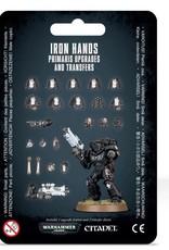 Games Workshop SM: Iron Hands Primaris Upgrades