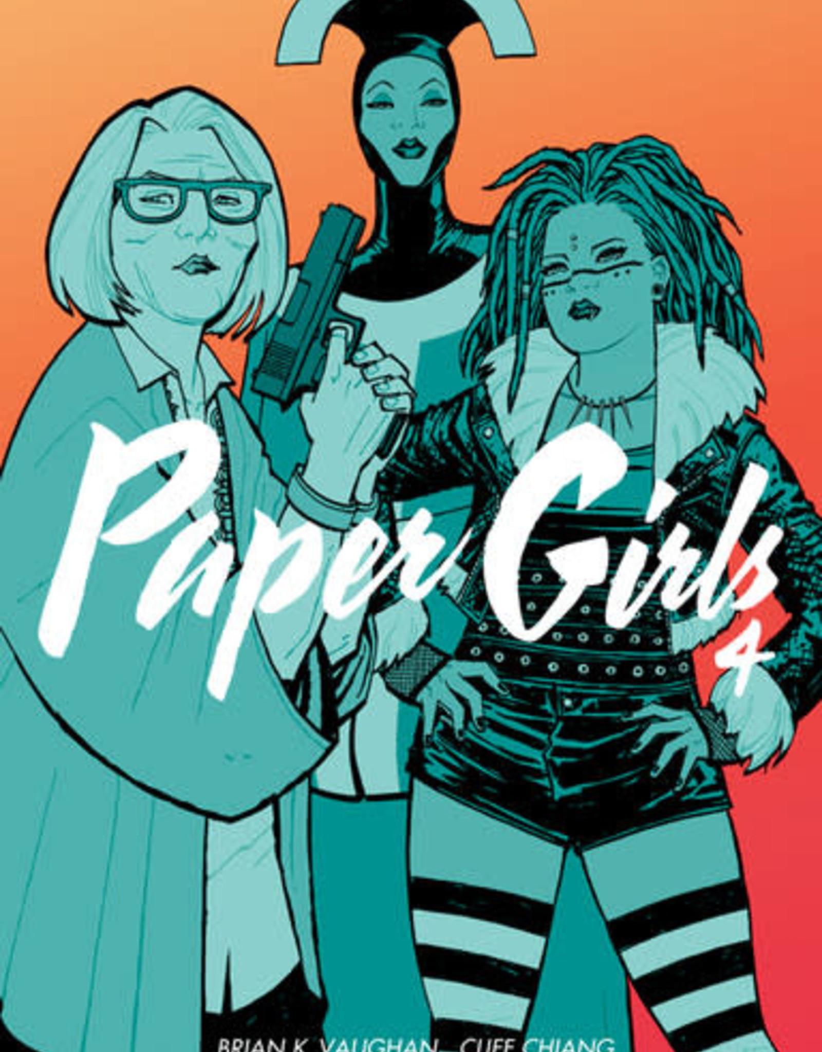 Image Comics Paper Girls v04