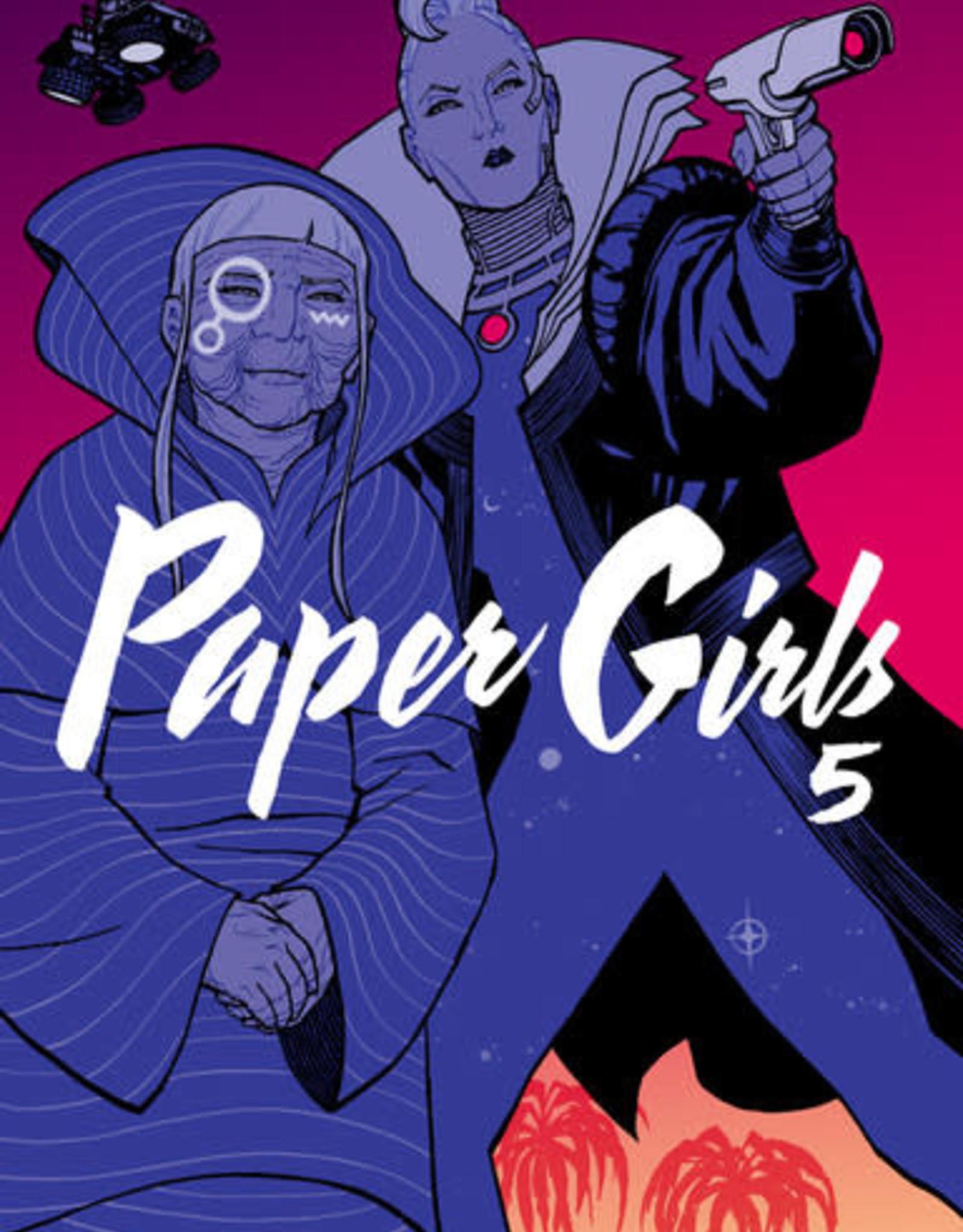 Image Comics Paper Girls v05