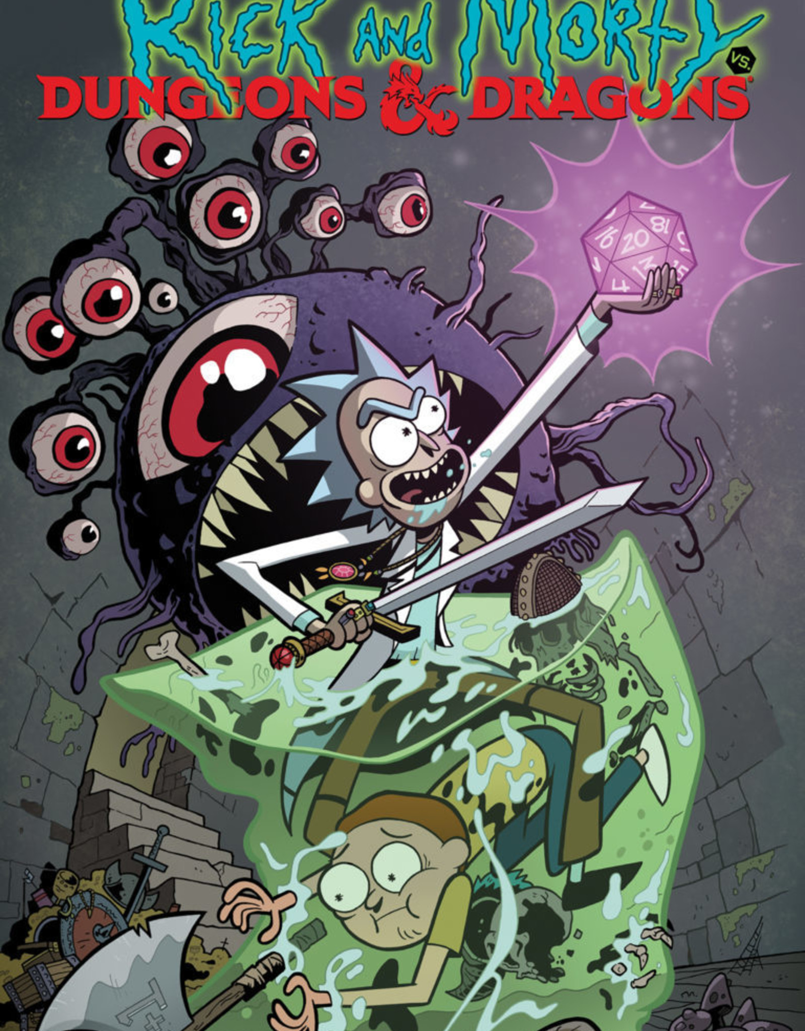 IDW Publishing Rick & Morty vs D&D v01