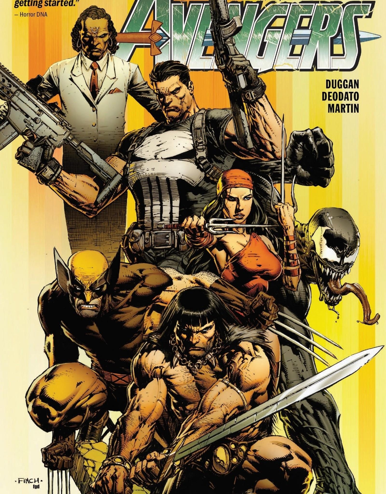 Marvel Savage Avengers v01 City of Sickles