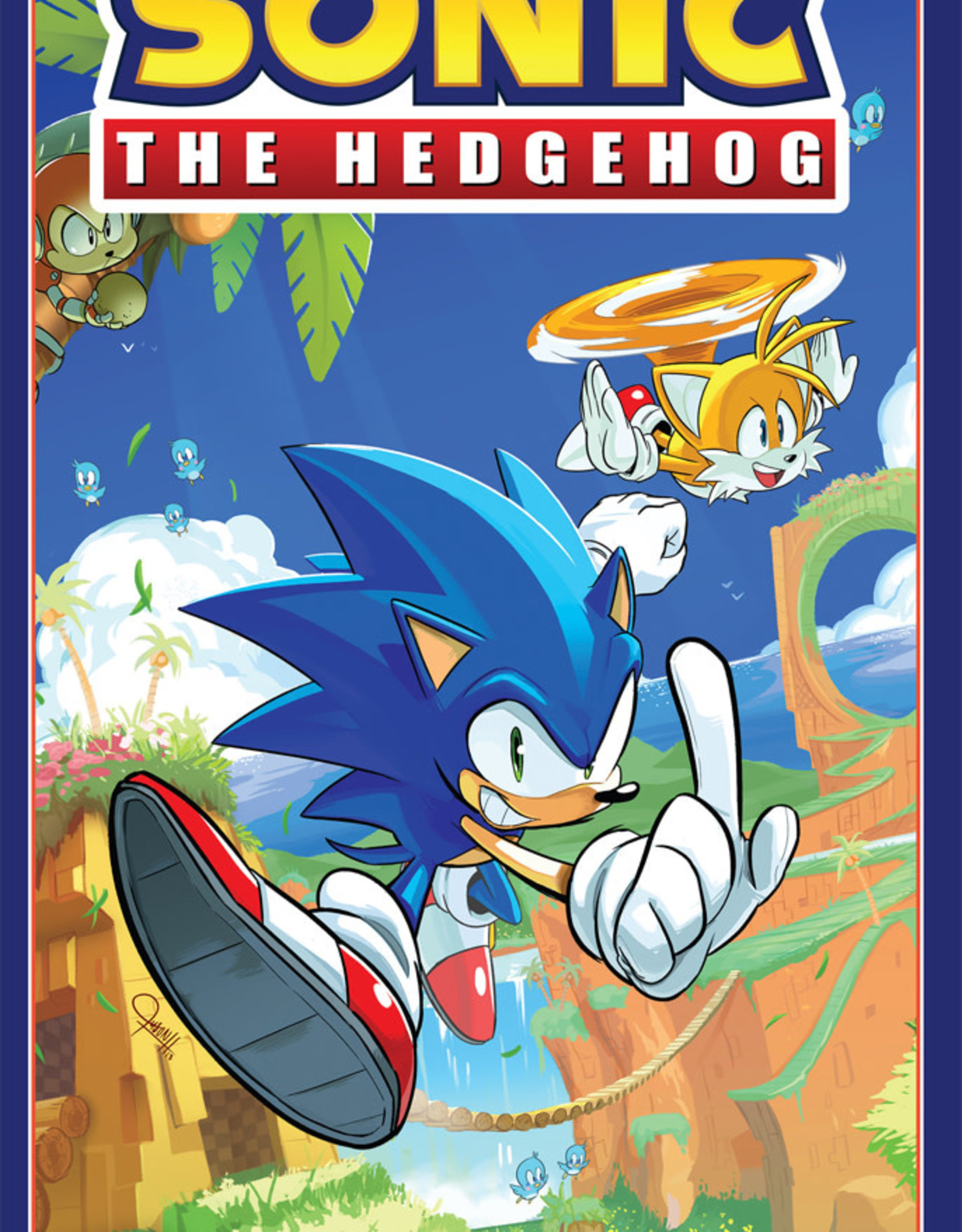 IDW Publishing Sonic the Hedgehog v01 Fallout