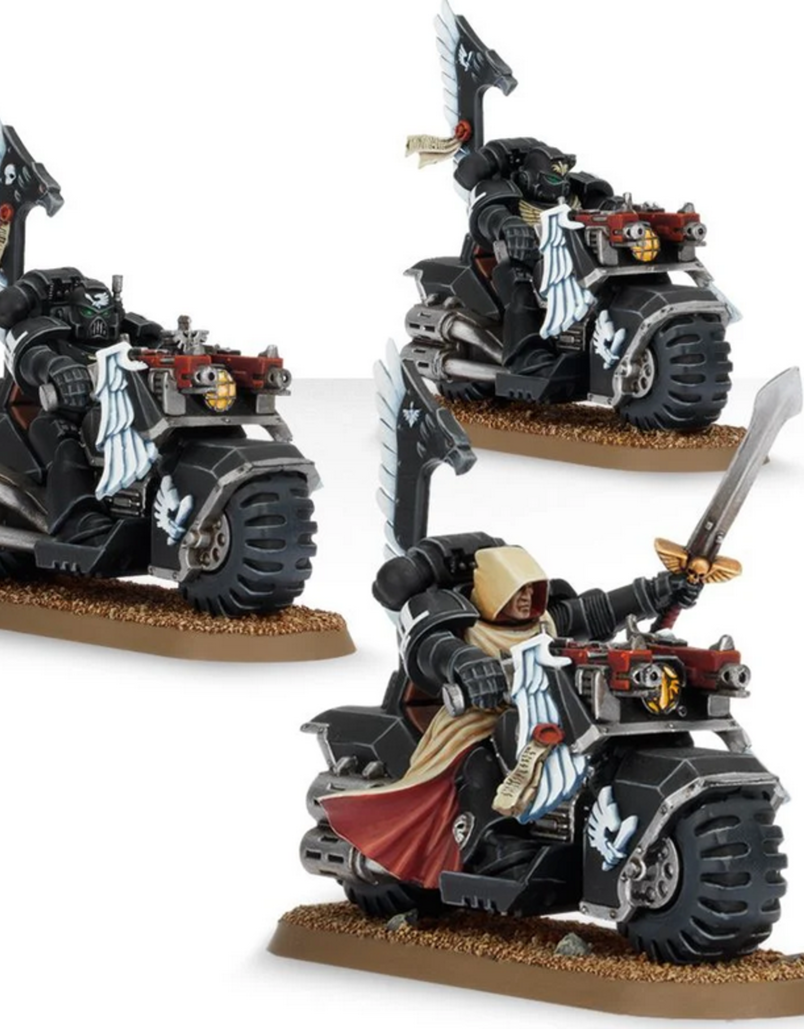 Games Workshop SM: Dark Angels Ravenwing Bikes Squadron