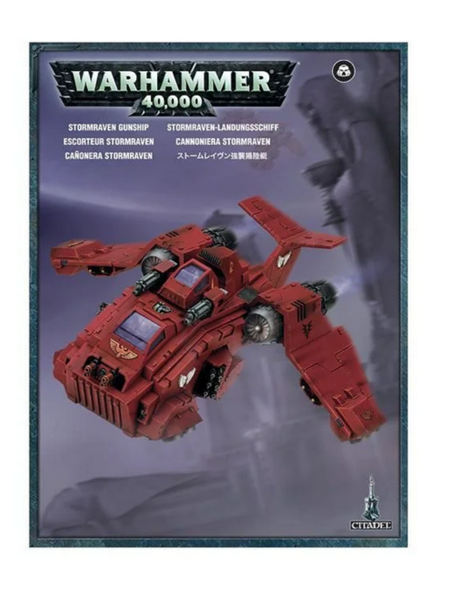 Games Workshop SM: Storm Raven Gunship