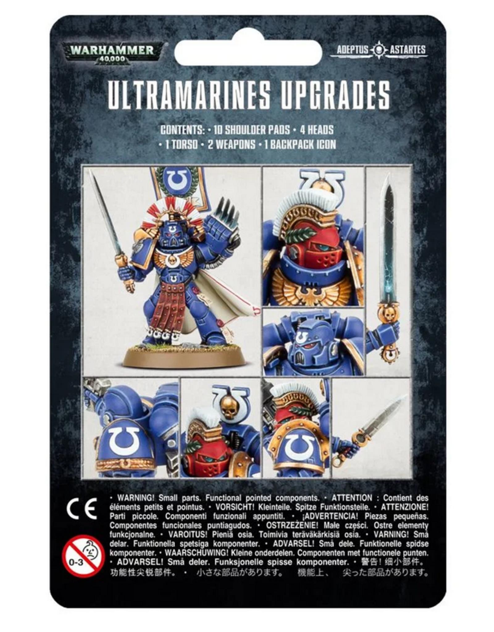 Games Workshop SM: Ultramarines Upgrades