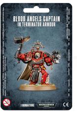 Games Workshop SM: Blood Angels Captain in Terminator Armor