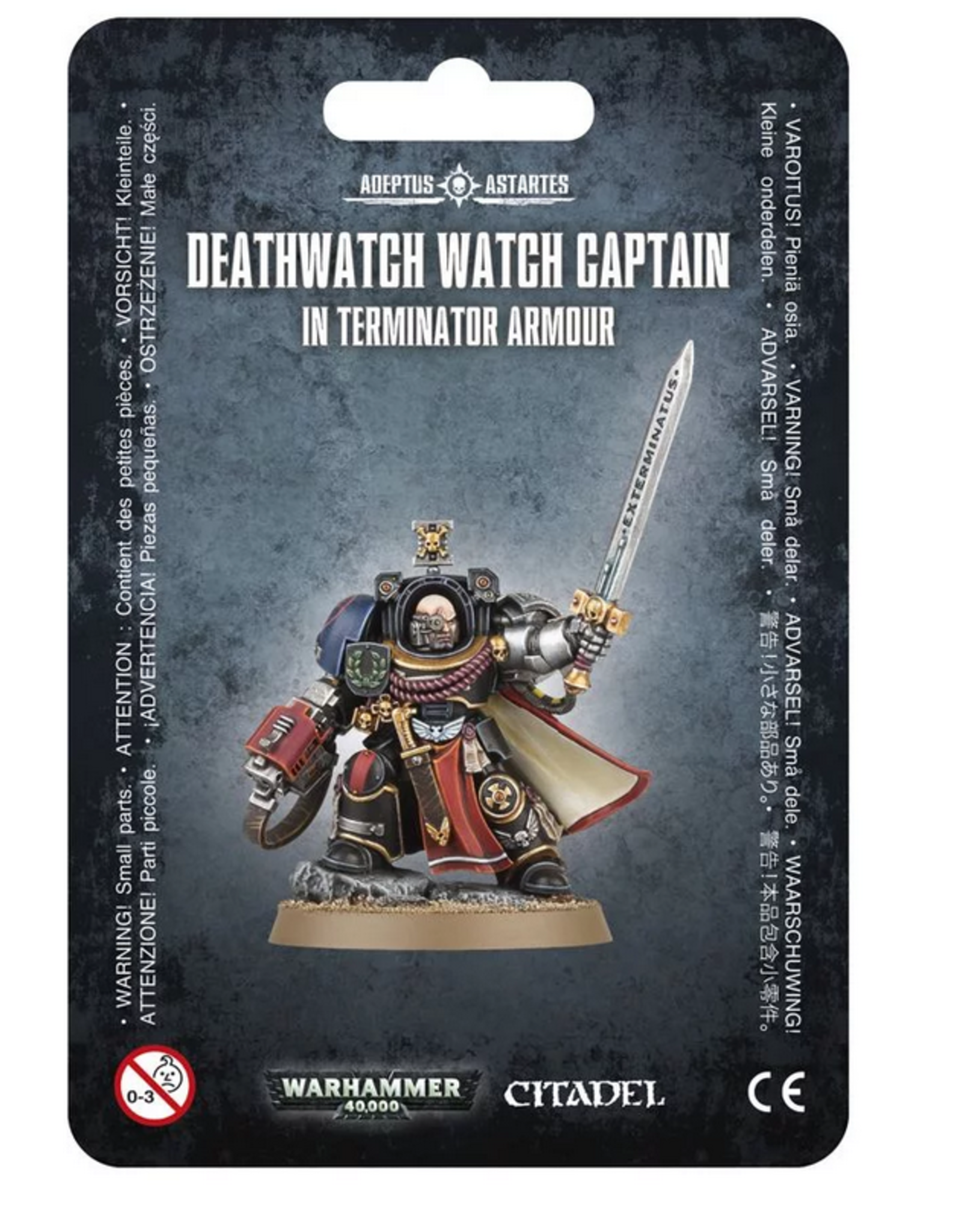 Games Workshop SM: Deathwatch Terminator Captain