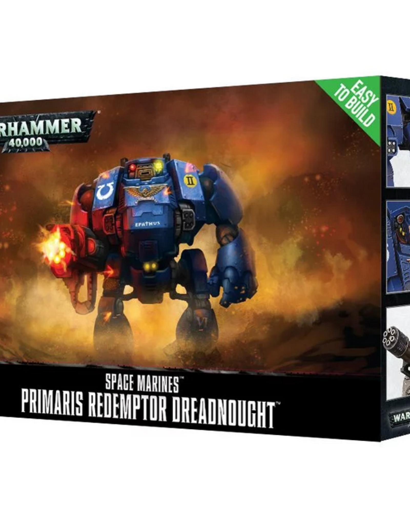 Games Workshop SM: Primaris Easy to Build Redemptor Dreadnought
