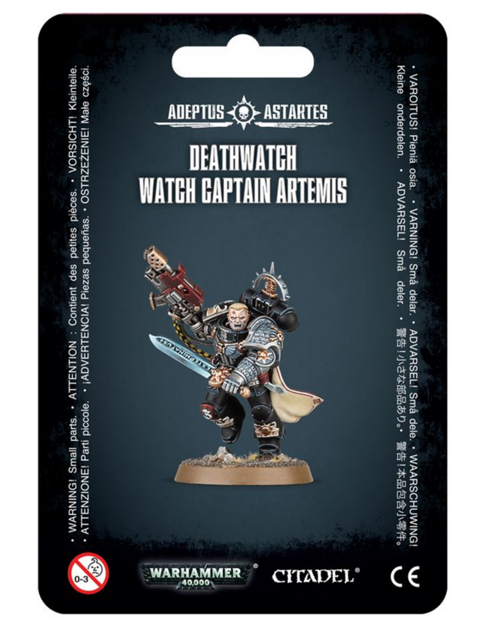Games Workshop SM: Deathwatch Watch Captain Artemis