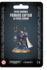 Games Workshop SM: Primaris Captain in Phobos Armor
