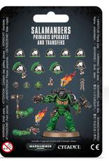 Games Workshop SM: Salamanders Primaris Upgrades