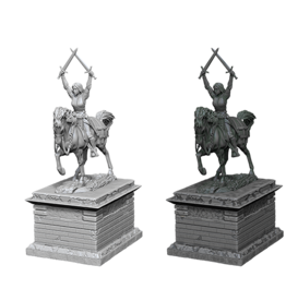 WizKids WizKids Deep Cuts: Heroic Statue