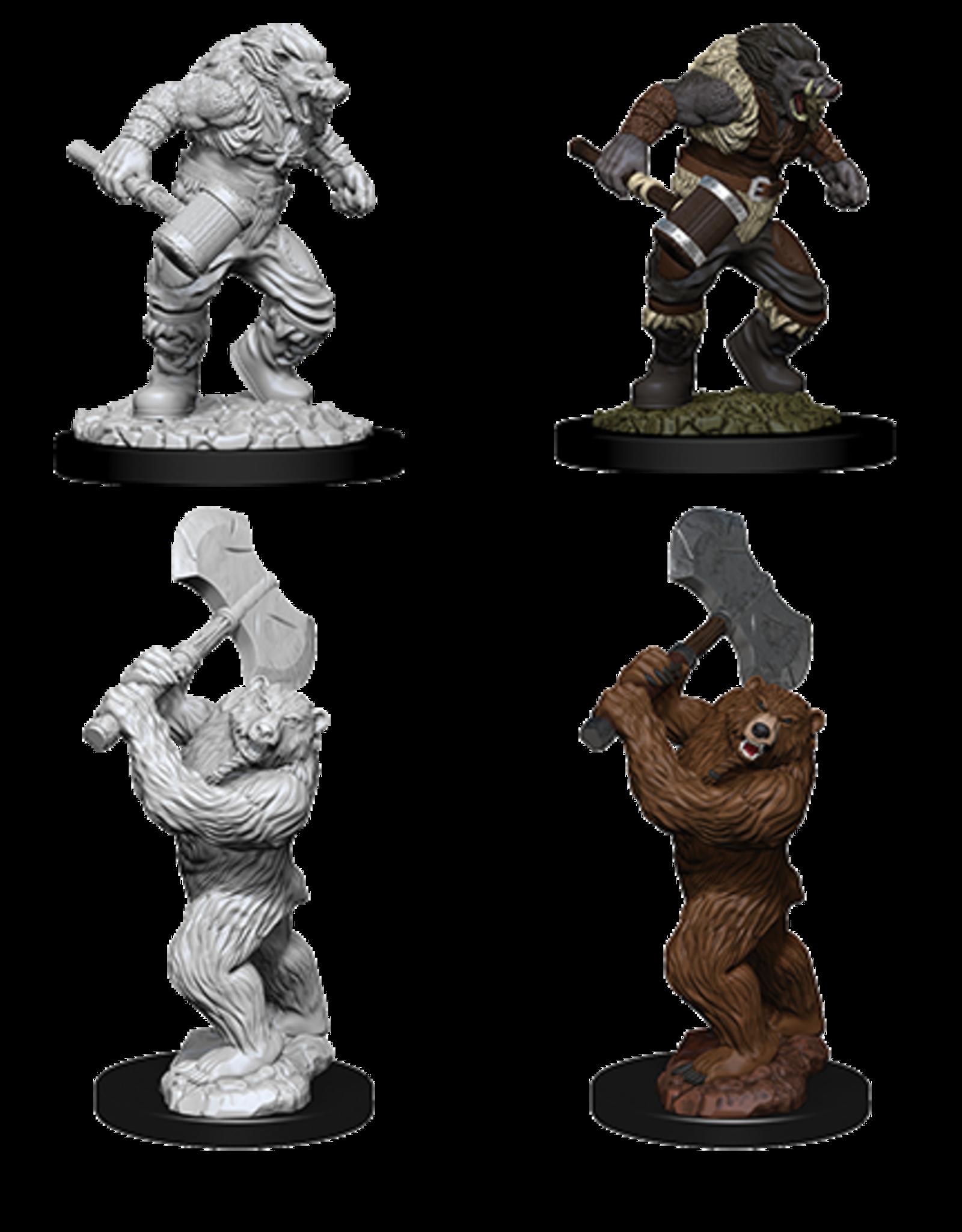 WizKids D&D Nolzur's Marvelous Miniatures: Wereboar & Werebear
