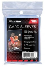 Ultra PRO 100ct Clear Card Sleeves (Penny Sleeves)