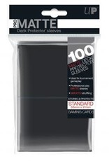 Ultra PRO 100ct Pro Matte Black Sleeves