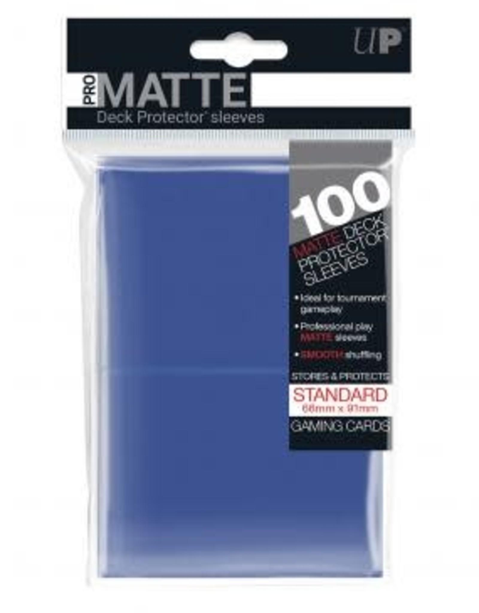 Ultra PRO 100ct Pro Matte Blue Sleeves
