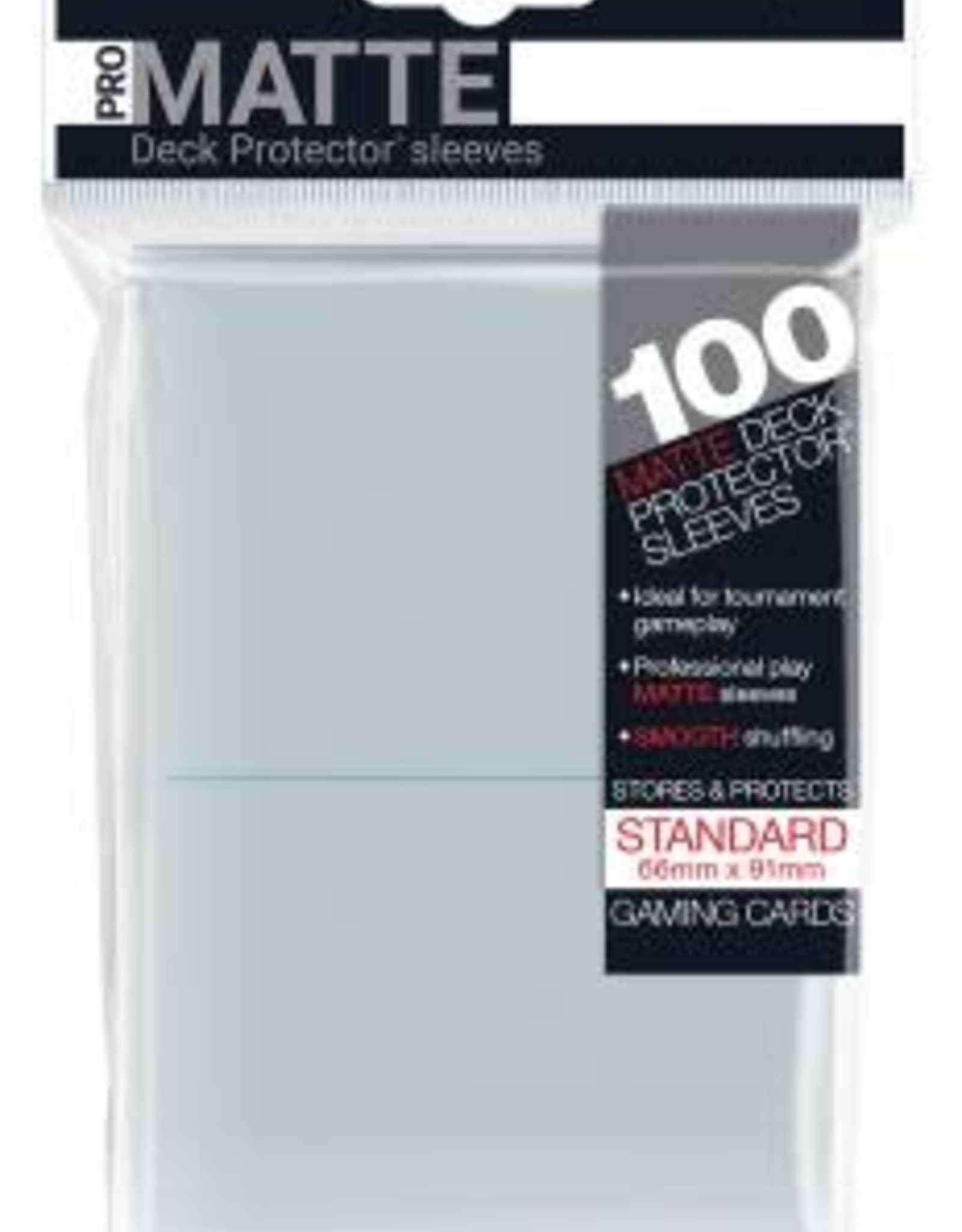 Ultra PRO 100ct Pro Matte Clear Sleeves