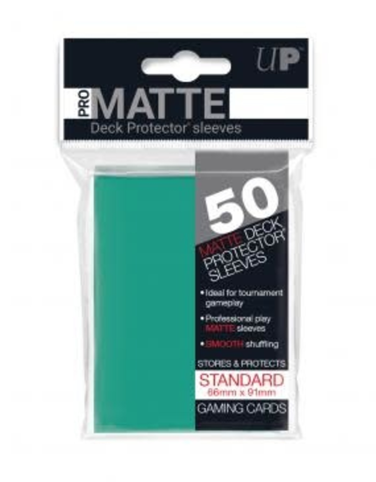 Ultra PRO 50ct Pro Matte Aqua Sleeves