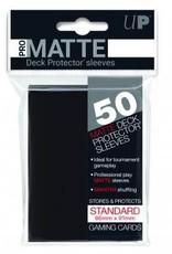 Ultra PRO 50ct Pro Matte Black Sleeves