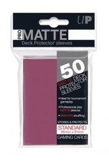 Ultra PRO 50ct Pro Matte Blackberry Sleeves