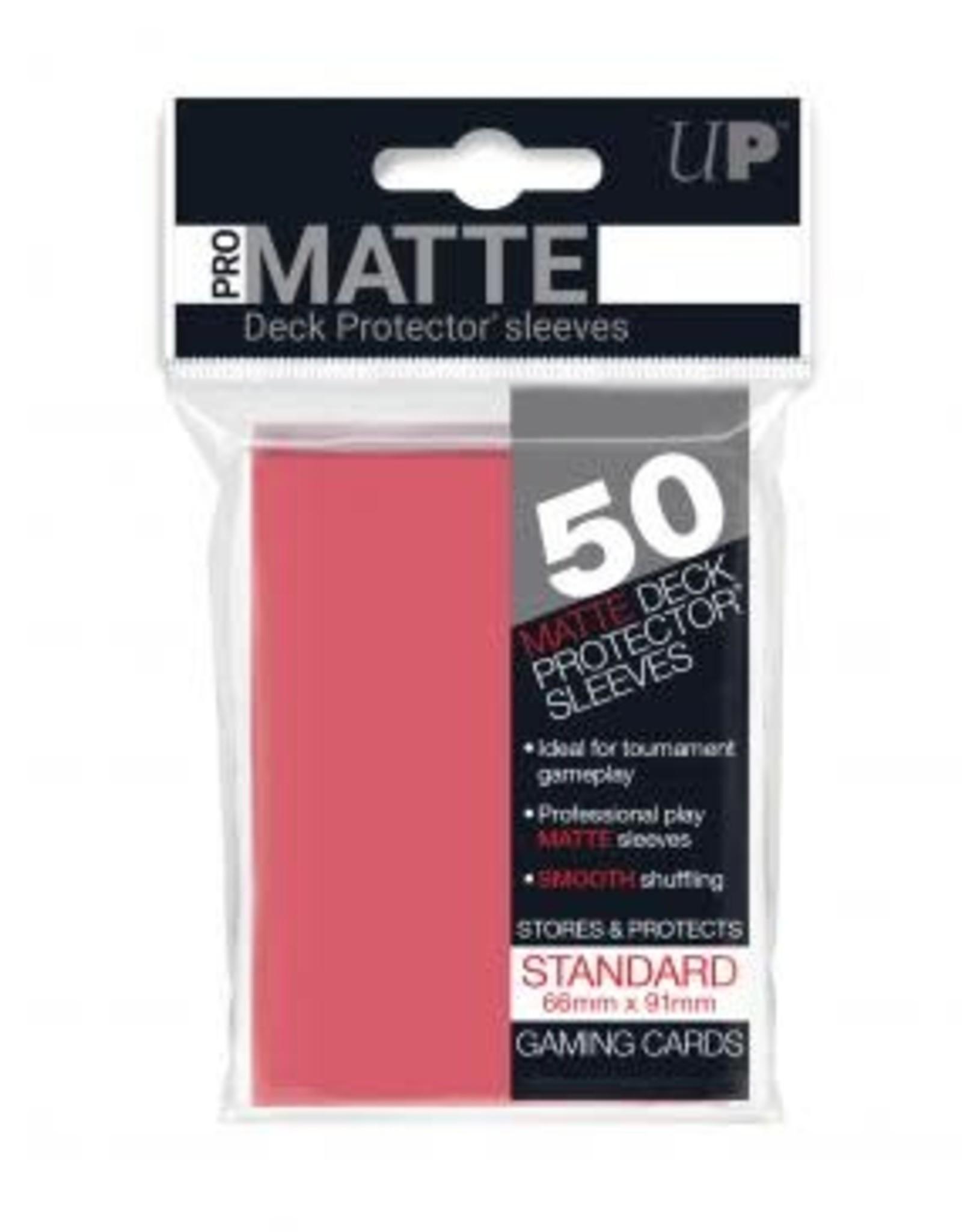 Ultra PRO 50ct Pro Matte Fuchsia Sleeves