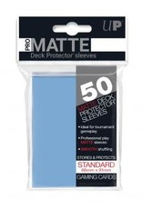 Ultra PRO 50ct Pro Matte Light Blue Sleeves