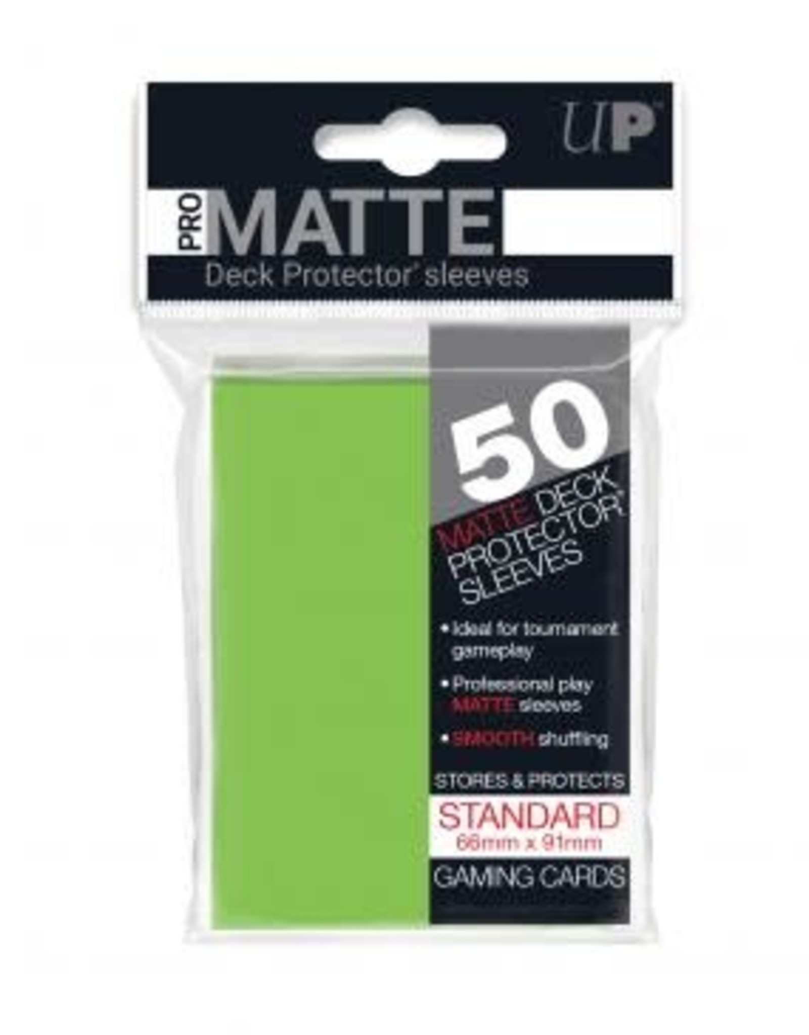 Ultra PRO 50ct Pro Matte Lime Green Sleeves