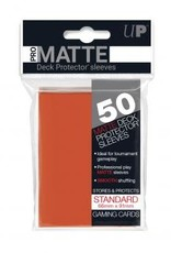 Ultra PRO 50ct Pro Matte Peach Sleeves