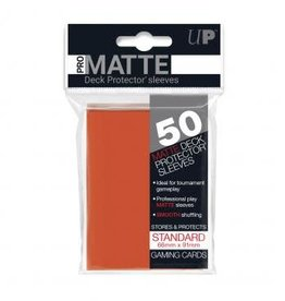 Ultra PRO 50ct Pro Matte Peach Sleeves