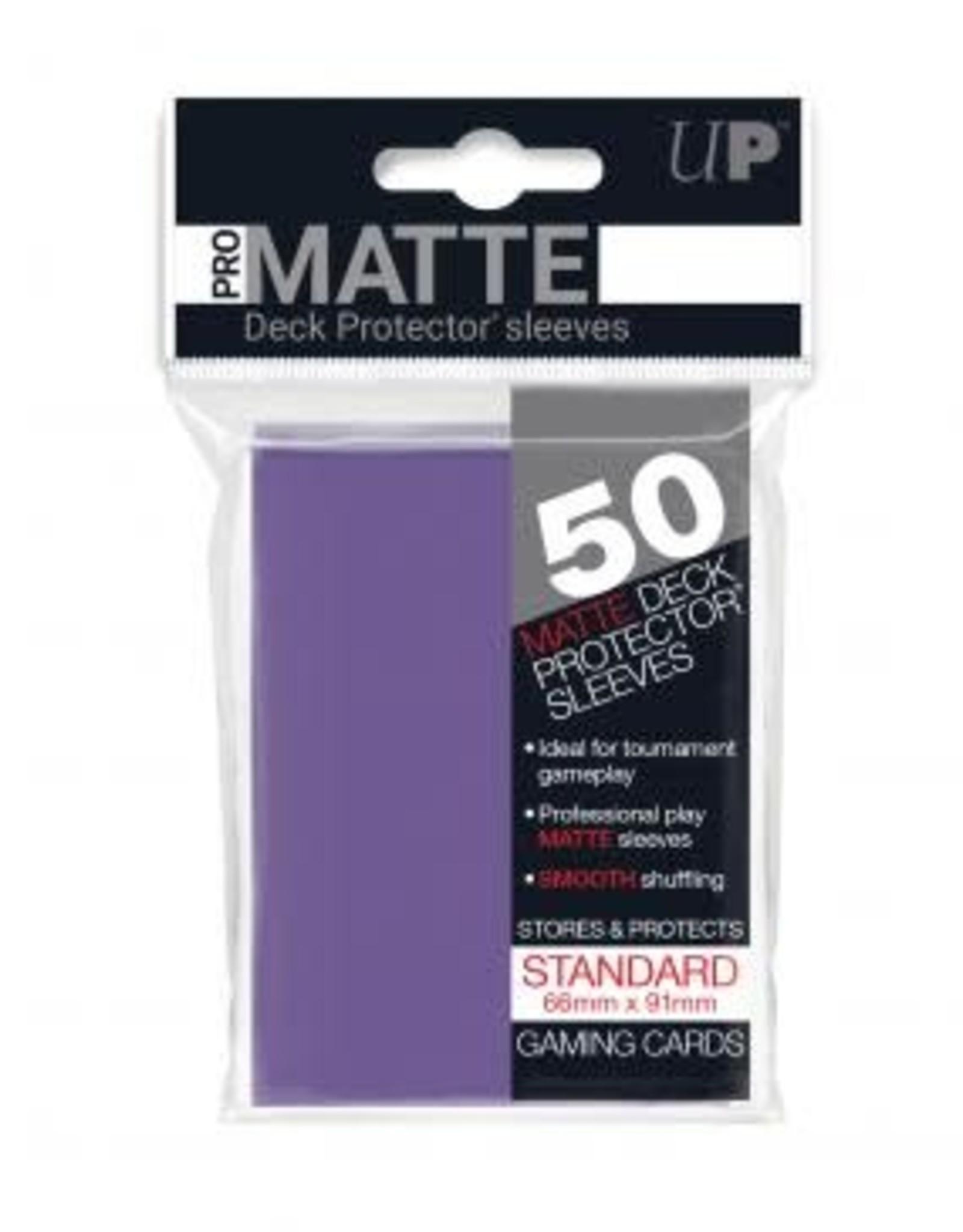 Ultra PRO 50ct Pro Matte Purple Sleeves