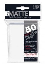 Ultra PRO 50ct Pro Matte White Sleeves