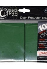 Ultra PRO PRO-Matte Eclipse Forest Green 100ct Sleeves