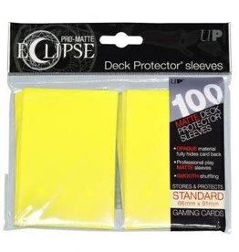 Ultra PRO PRO-Matte Eclipse Lemon Yellow 100ct Sleeves