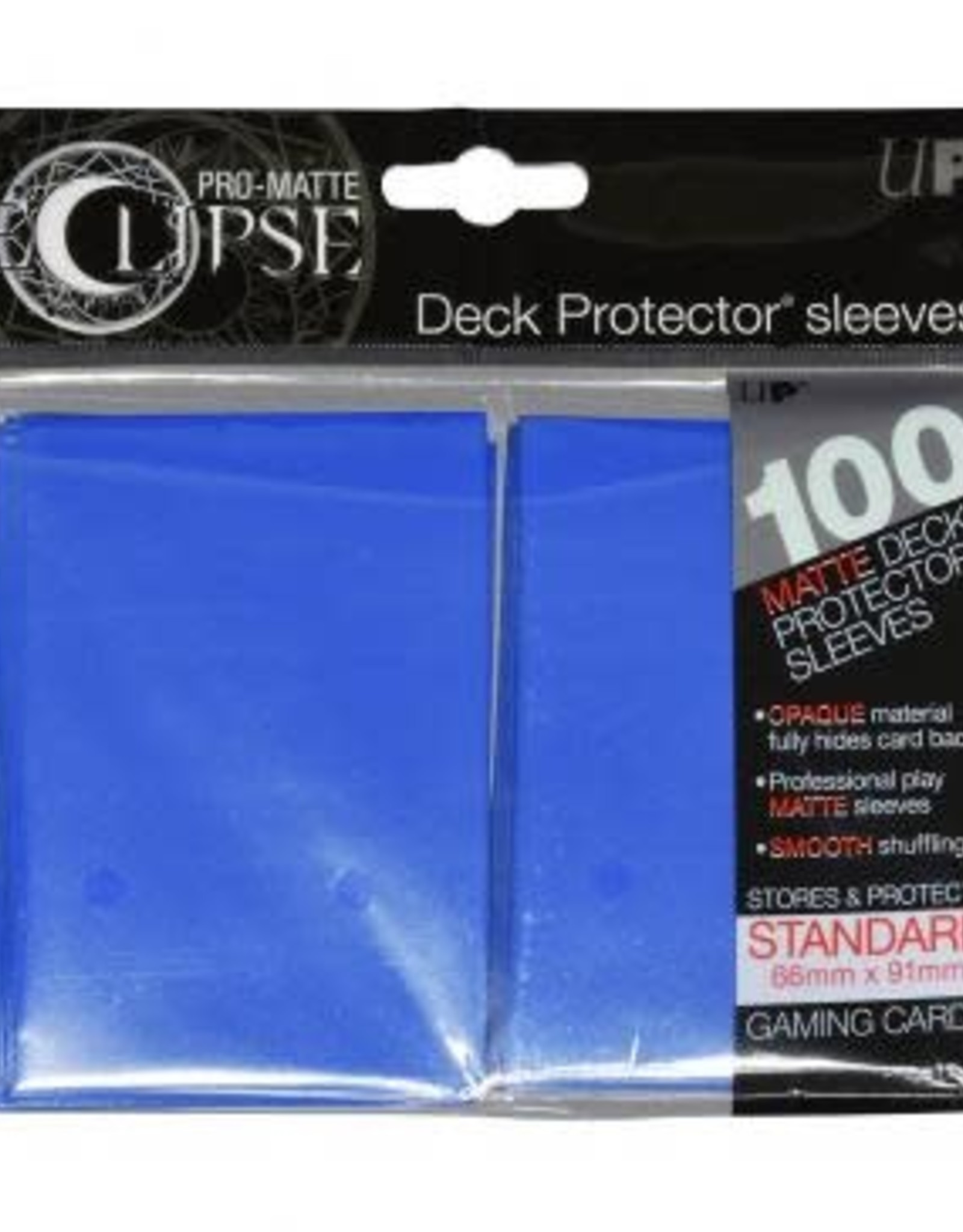 Ultra PRO PRO-Matte Eclipse Pacific Blue 100ct Sleeves