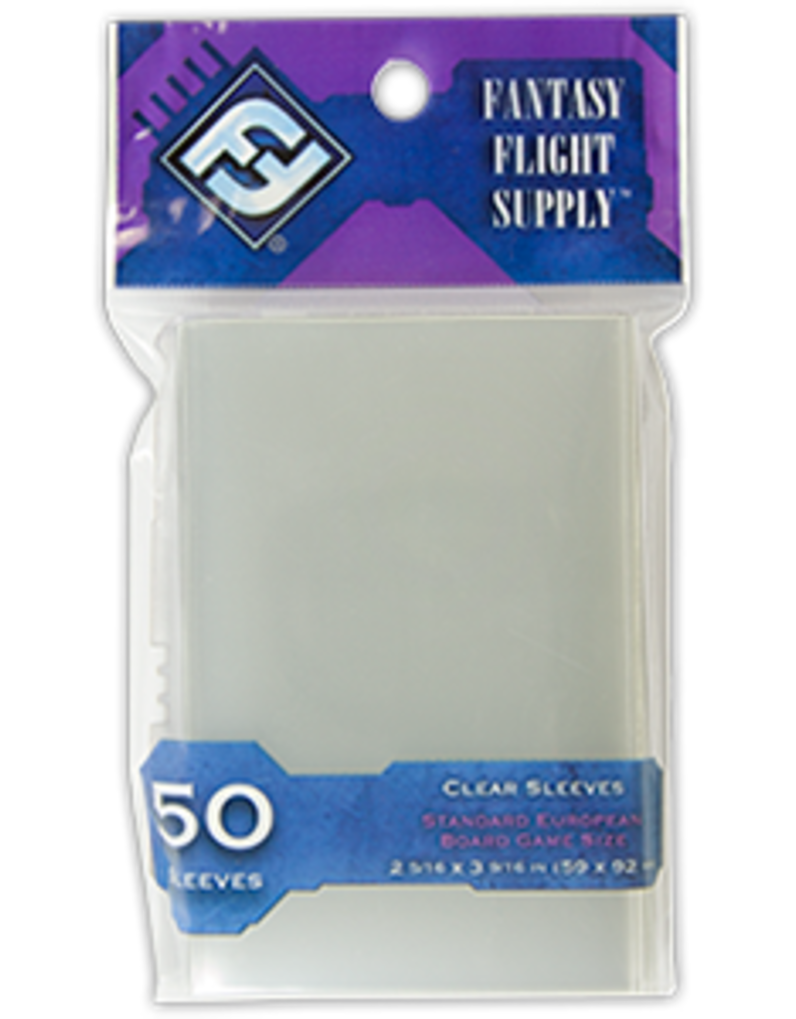 Fantasy Flight Standard European Board Game Sleeves (Purple)