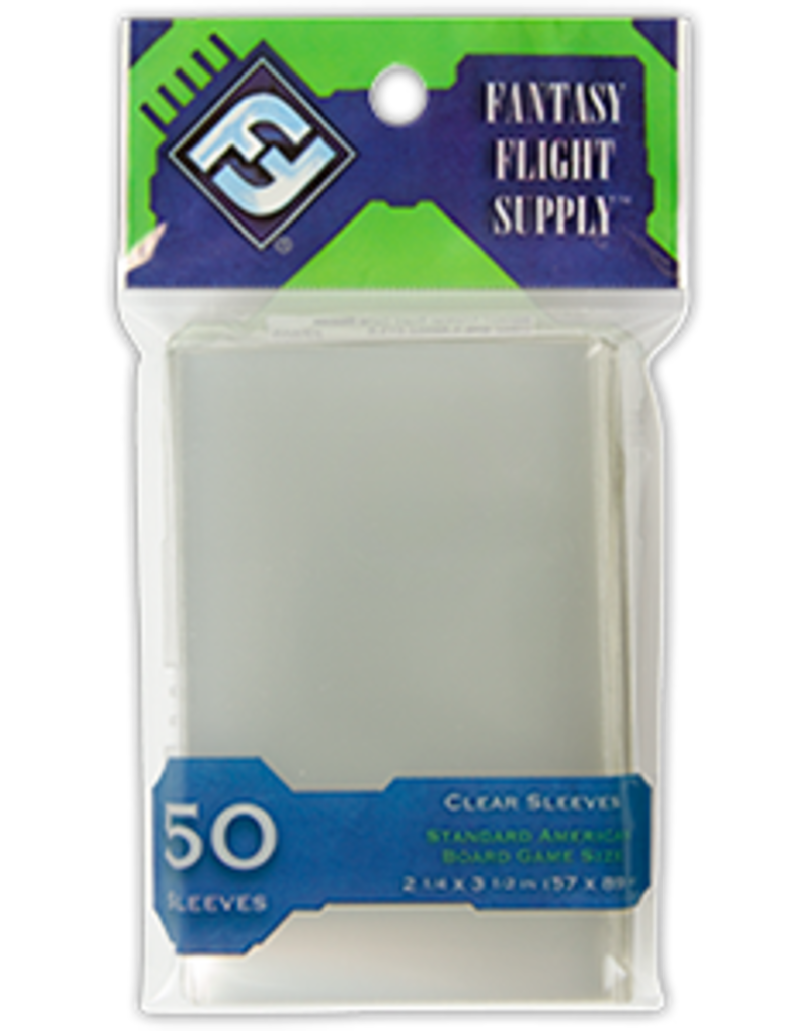Fantasy Flight Standard American Board Game Sleeves (Green)
