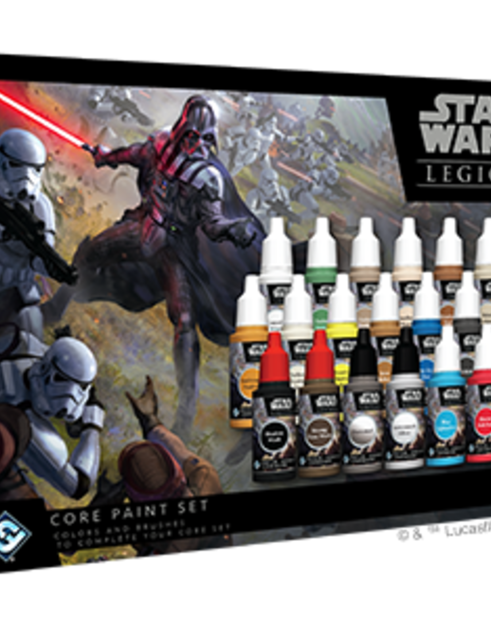 Fantasy Flight Star Wars Legion Core Paint Set