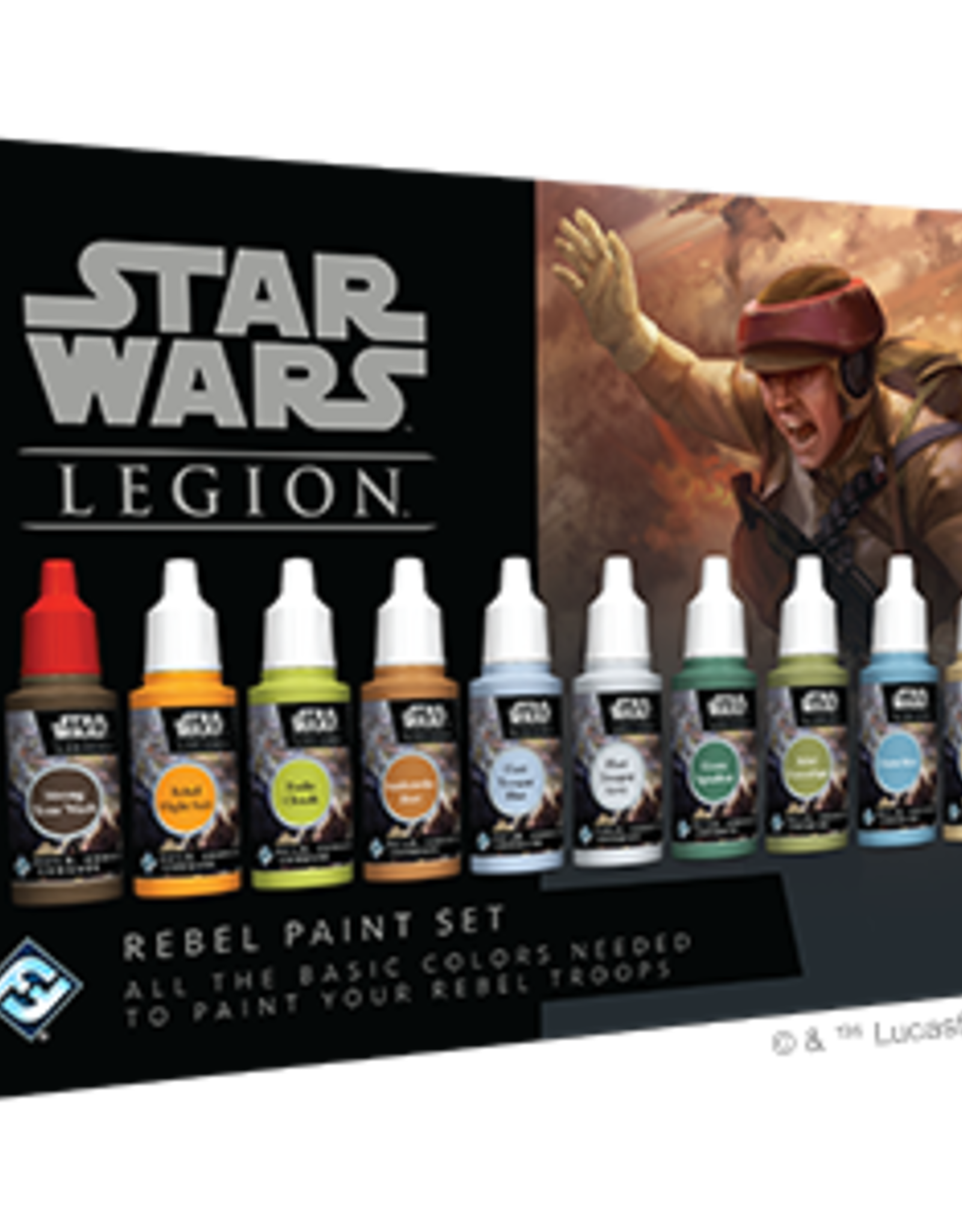 Fantasy Flight Star Wars Legion Rebel Paint Set
