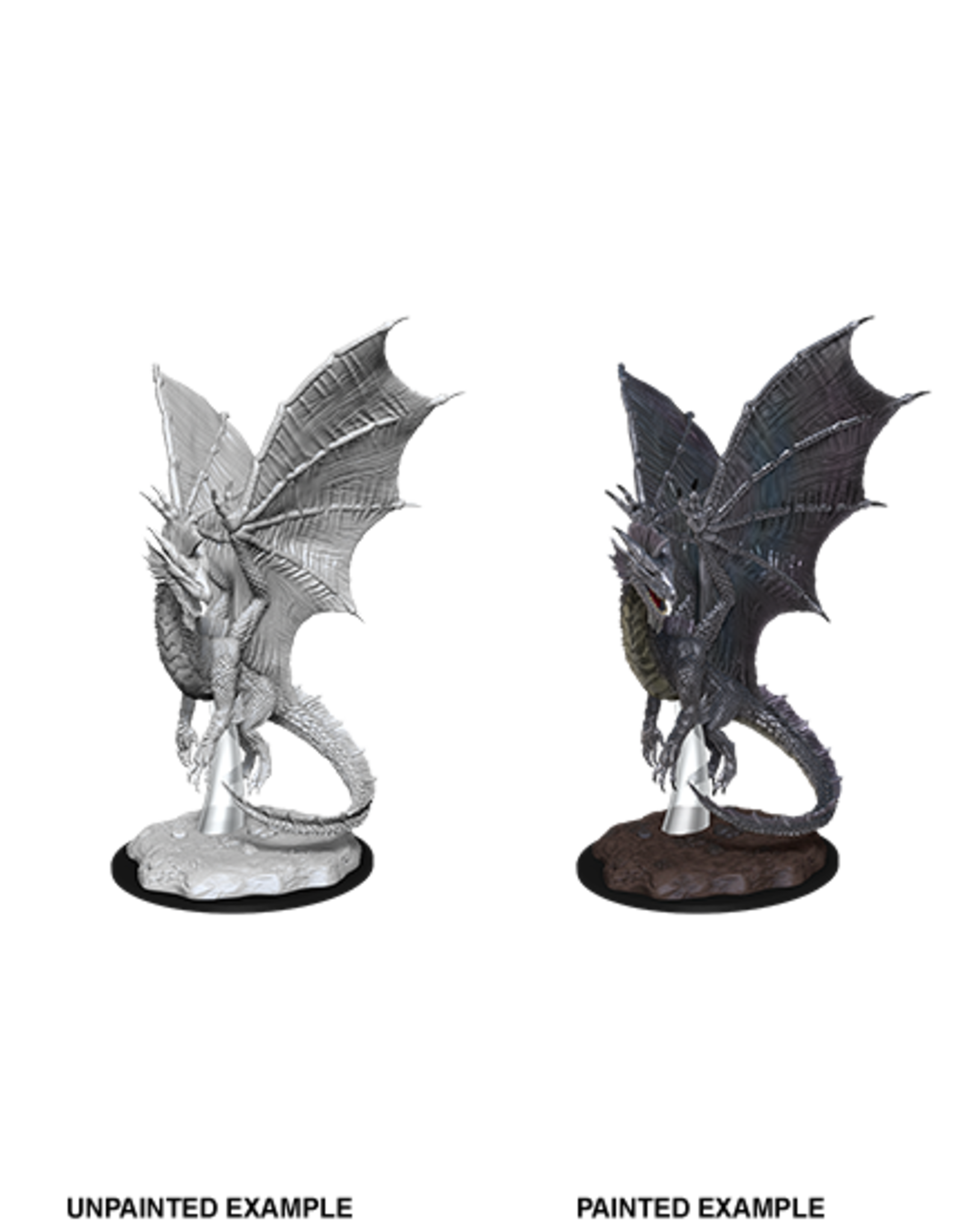 WizKids D&D Nolzur's Marvelous Miniatures: Young Silver Dragon