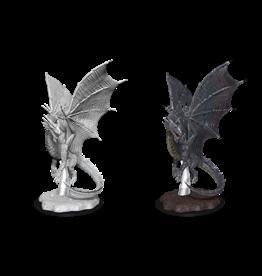WizKids D&D Nolzur's Marvelous Miniatures: Young Silver Dragon