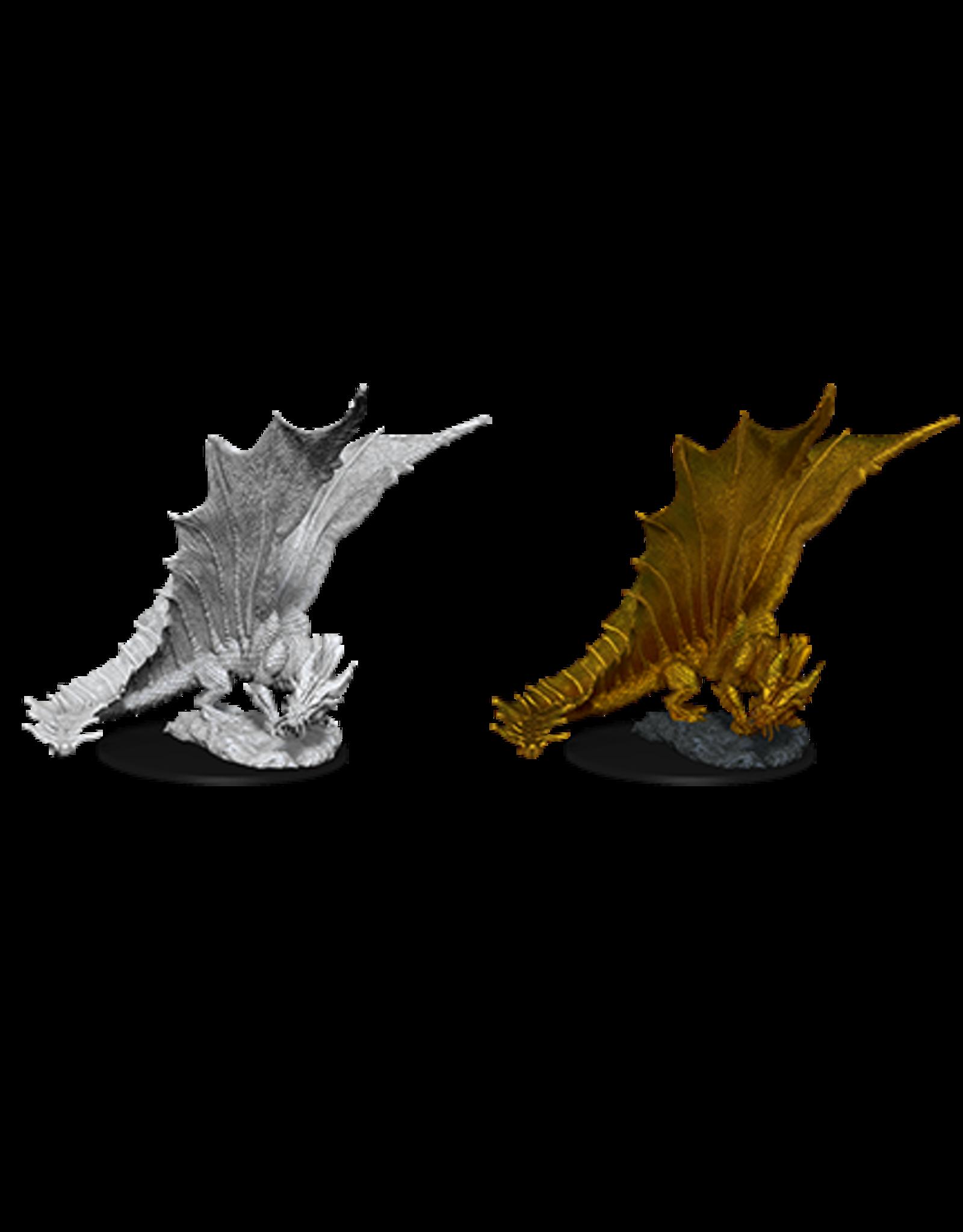 WizKids D&D Nolzur's Marvelous Miniatures: Young Gold Dragon