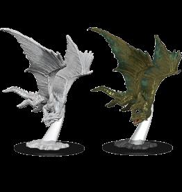 WizKids D&D Nolzur's Marvelous Miniatures: Young Bronze Dragon