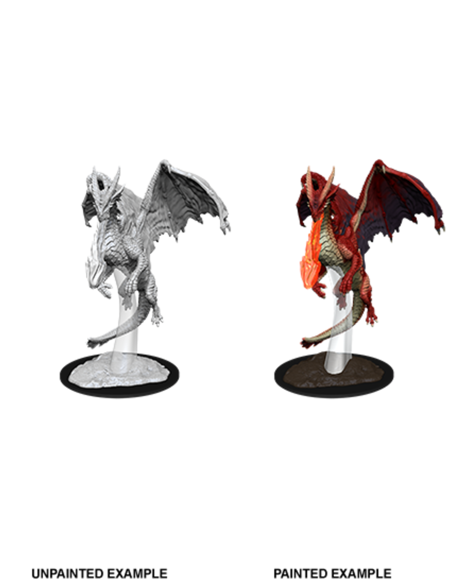 D&D Nolzur's Marvelous Miniatures: Young Red Dragon - The Comic Shop