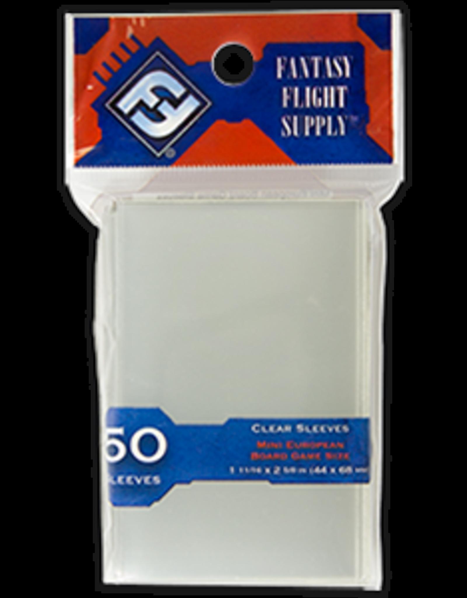 Fantasy Flight Mini European Board Game Sleeve (Red)