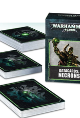 Games Workshop Datacards: Necrons 8E